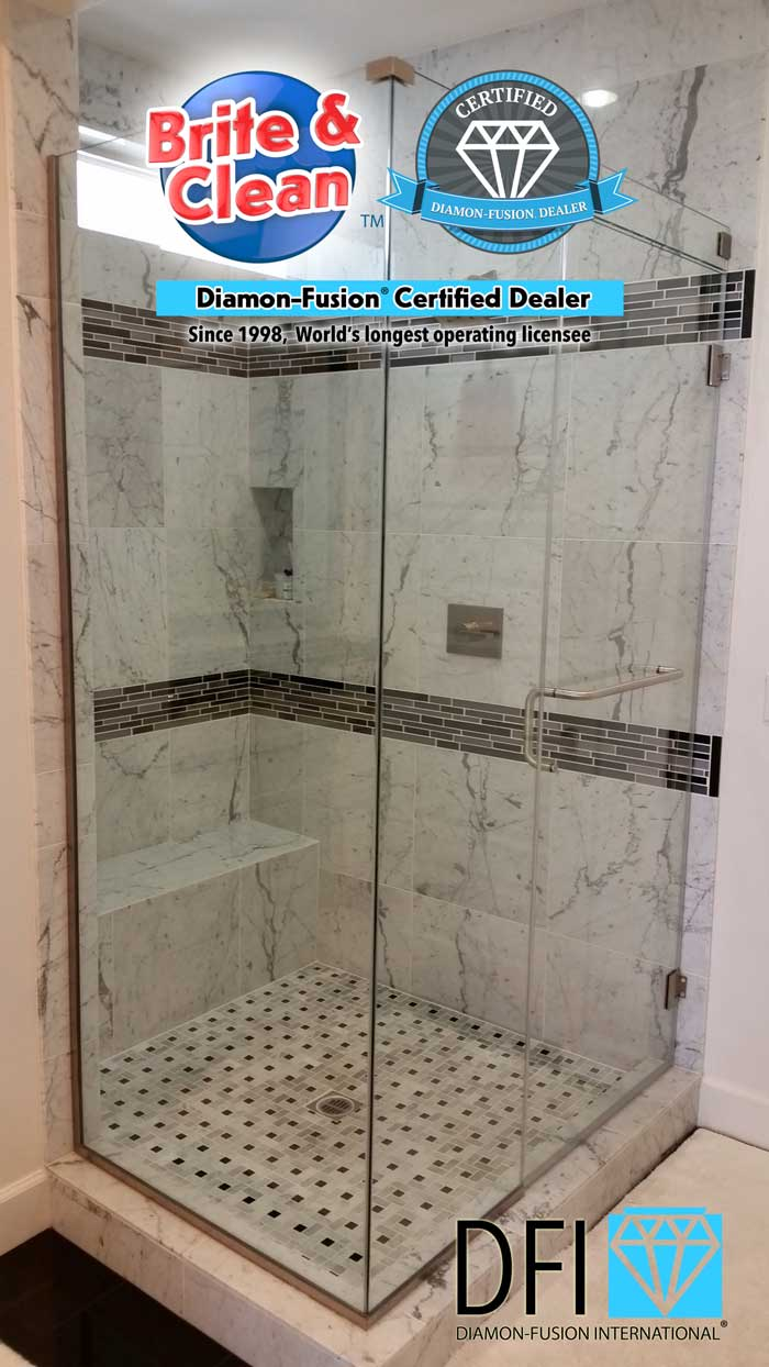 Diamon-Fusion® Coachella Valley shower doors