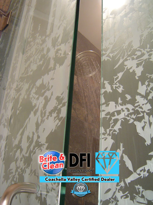 Invisible Art Glass for youyr shower by Diamon-Fusion